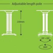 adjustablepolelength